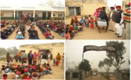 'GOPIO NW distributed shoes and warm clothes to underprivileged children in North  India'