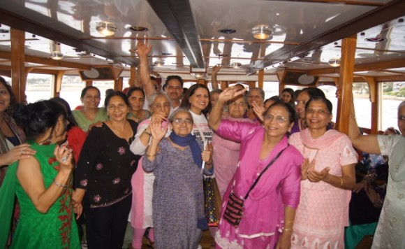 Seniors thoroughly enjoyed 'Caring Cruise for Ageless Seniors' by GNFKS