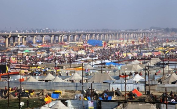 'Don't miss to take  a holy dip  in 'Maha Kumbh' with ABC on March 23'