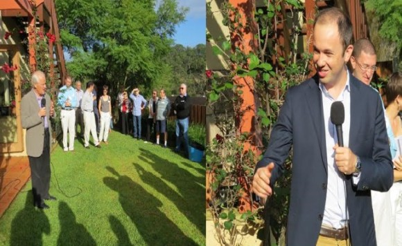 'Localities enjoyed chat with Liberal State and Federal Members at Hornsby Heights'