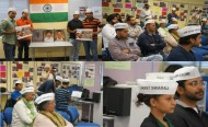 AAP Victoria paid rich tributes to Bhagat Singh, Rajguru and Sukhdev on  'Martyr's Day