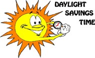Daylight saving ends today