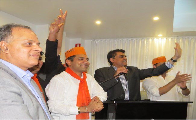 OFBJP , Election Result , Celebrations , Australia