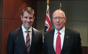 New Governor NSW , General David Hurley
