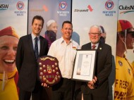 Allan Davis named  as NSW lifesaver of the Year