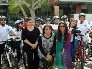 NADF held bike ride to create awareness on 'Mental Health and Brain Injury' problems