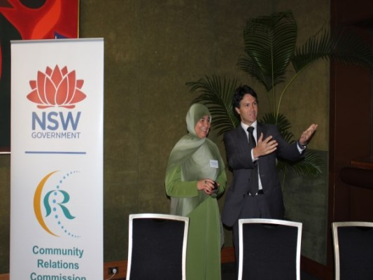 Maha Krayem Abdo wins  'NSW Human Rights Award'