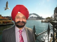 Harry Walia: 'Giving back through community work'