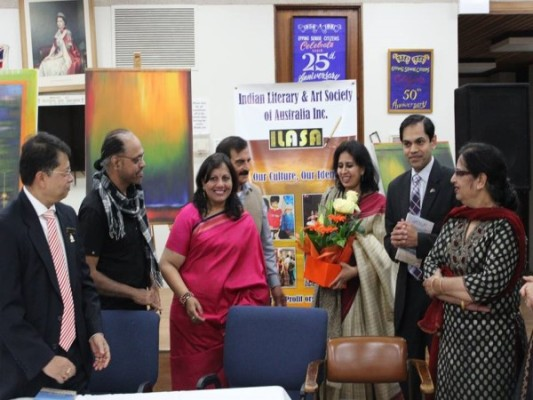 Poetic expressions and humour highlighted at ILASA's Kavi Sammelan