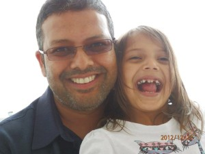 Ridwan Hassim and daughter Leyla
