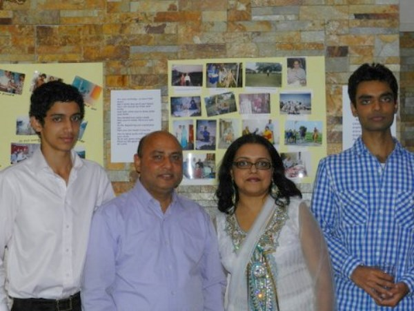 Bhupinder Chhibber with his sons