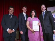'Abhinay School' honoured with St George Community Group of the year award 2014