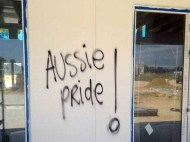 Gurudwara vandalized in Perth , painted with anti-Islamic slurs