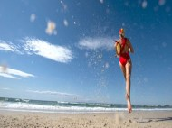 Surf lifesavers head out to the bush