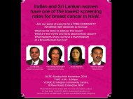Did you know that breast cancer is a leading cause of death in women in India and Sri Lanka?