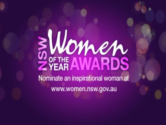 Nominations open for the 2015 NSW Women of the Year Awards