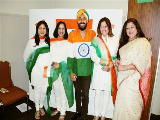 India's 66th Republic Day celebrated at Concord Function centre