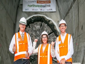North West rail link powers ahead
