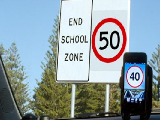 Manage your speed on NSW roads with the Speed Adviser App