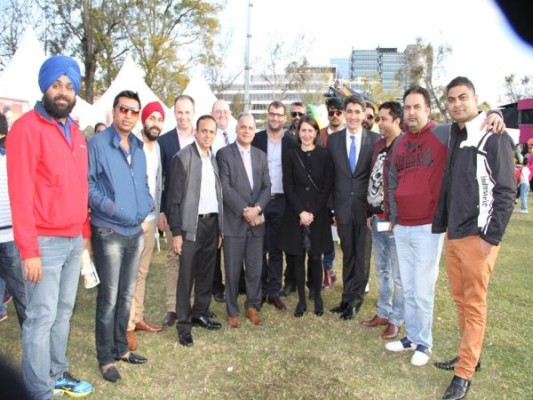 FIAN celebrated India Day in Parramatta