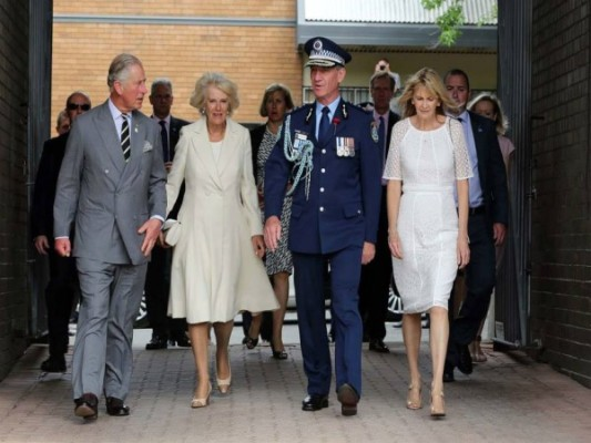 Commissioner welcomes Royal guests to NSW Police Force Mounted Unit