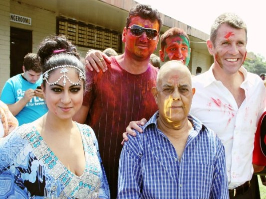 Premier  of NSW extends Holi greetings