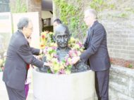 UNSW pays tribute to Mahatma Gandhi on his 147th birth anniversary