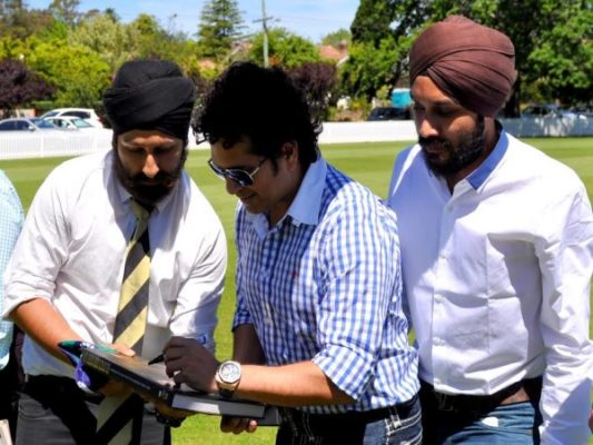 Manu Singh:  From an ardent fan to the 'Cricket Connect Exhibition Ambassador'