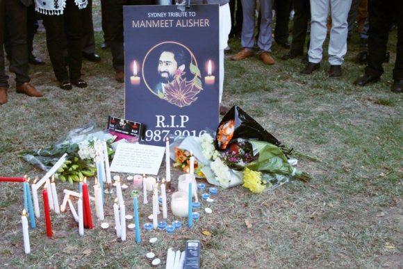 Hundreds attended candle light vigil to mourn Manmeet's death