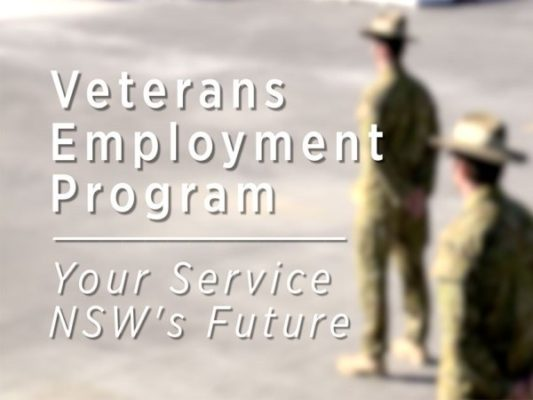Target exceeded, 310 Veterans already employed in NSW public sector