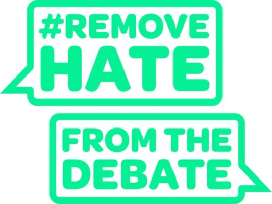'Remove hate from the debate' website launched