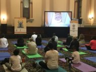 CGI, Sydney celebrates International Yoga Day