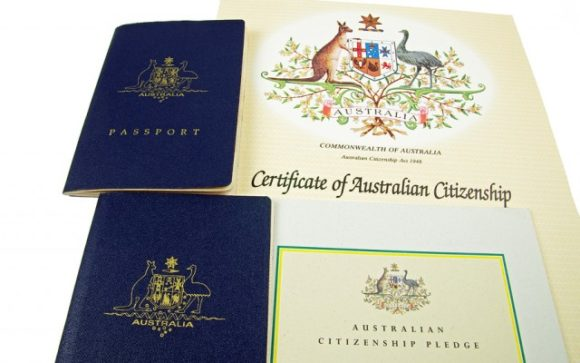 Steep  growth in Australian citizenship